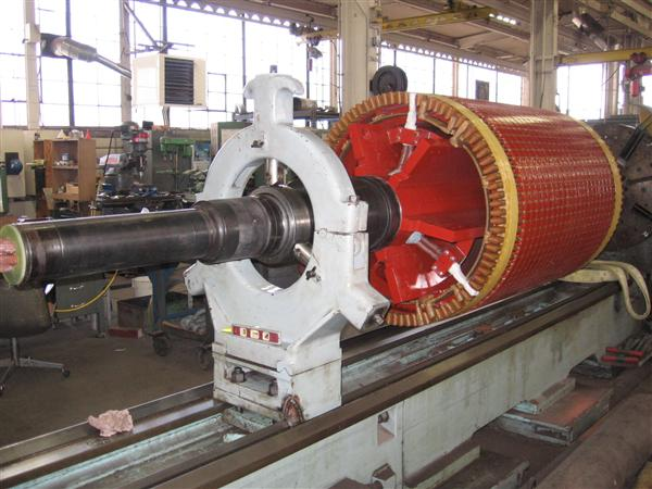 industrial electric motor repair service rewinding