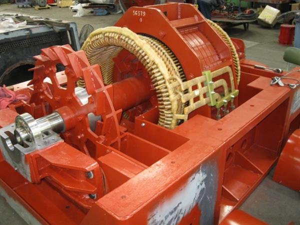 Industrial Motor Repair Generator Retrofitting Siemens